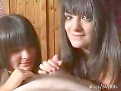 double blowjob two sisters