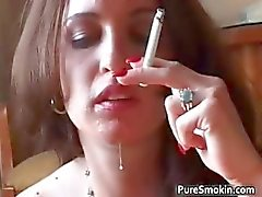 Britney Rays Smoking steamy oral sex