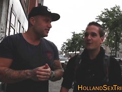 Amsterdam hooker spunked