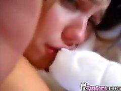 Homemade Webcam Fuck for a hot teen