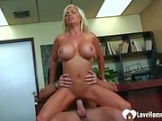 His cock will destroy her tight cunt