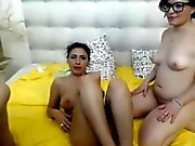 Dual sluts that were shaped gets fucked on livecam
