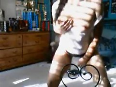 Teen stripping on camera