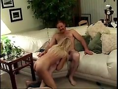 Amateur blonde blowjob and deepthroat