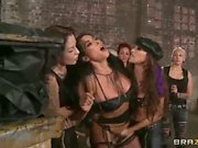 Wild bitches Celeste Star and Brianna Jordan in HD lezdom porn