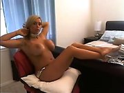 Big Boobs girl dances on webcam more videos at