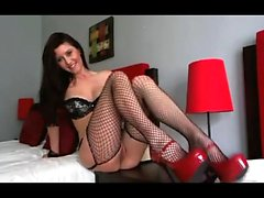 Stockings milfs sweet masturbation heels