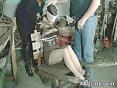 Alluring Bondage Chick Extreme Sex