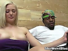 Euro Teen Jenna Ivory gets Interracial Rough Fucked by Two Black Dicks