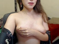 Teen with Glasses make a Show on Cam 2
