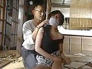Japanese abandoned after bound and gagged