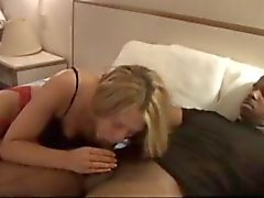 gorgeous wife trying black for 1st time