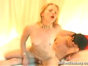 Hot Young Couple's First Sex Tape.