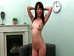 chinese girl likes deep fucking on couch