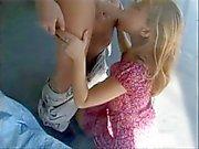 Cute teen seduced & banged by a big cock