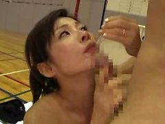 Asian Japanese Girl Oral Sex And Lick Ass