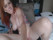 Skinny amateur redhead gf first time anal sex on tape