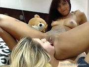 Pretty Good Couple Whore Shows It All On Webcam