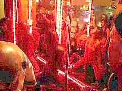 Thai Bar Girl dancing Naked