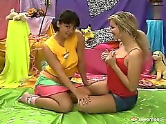 Lesbian teens making love