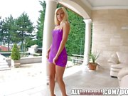 All Internal blonde teen Candee Licious gets creampie