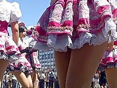 Carneval Upskirt