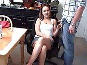 Shannon - Leg rub Cuckold