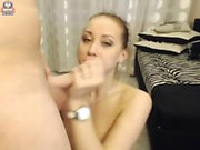 Lelu LoveWife Rewarding Husband Blowjob Doggystyle