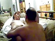 Homemade VHS compilation of a hot amateur wife