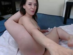 Cute Girl Solo Dildo Masturbation