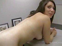 Amateur chick casting video