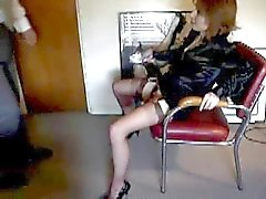 Kinky sex Secretary and her boss