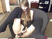 Amazing Girl Pleasure herself