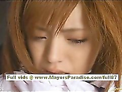 Azusa Itagaki lovely Chinese schoolgirl who enjoys fucking
