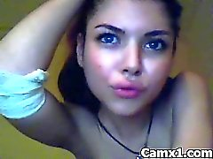 Horny Crazy Webcam Teen Solo Makeout