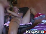 Krakenhot - Amateur casting with a hot blonde milf