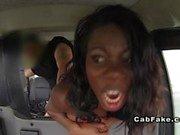 Interracial anal in fake taxi ebony reality