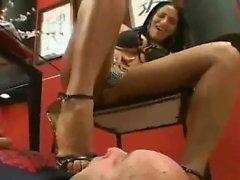 Hot Brazilian Foot worship