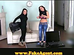 Hot babes fucked in casting interview