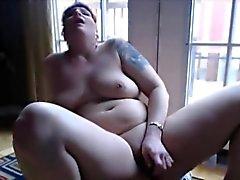 Tattooed big titted redhead Bianca anal-fuck