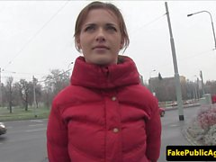Pickedup amateur eurobabe screwed publicly