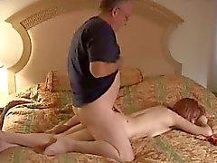 Mature Debra slammed by an old cameraman