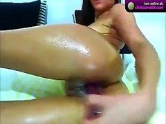 Solo Asian Erotic Masturbation
