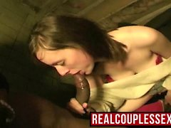 Amateur Interracial Sex Outdoor