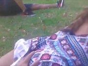- En el parque con shorcito -