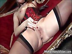 Horny brunette hoe Cathy Heaven part2