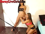 Webcam Girl Tied Up With Vibrator On Puss