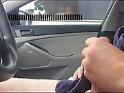 Car flash watches me cum 1fuckdatecom