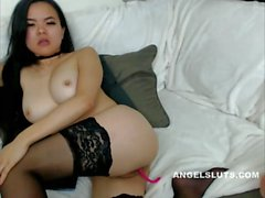 Asiam Teen Likes To Masturbate