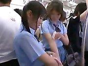 DANDY-295 Sweet aroma of hair and teen school girls in shee